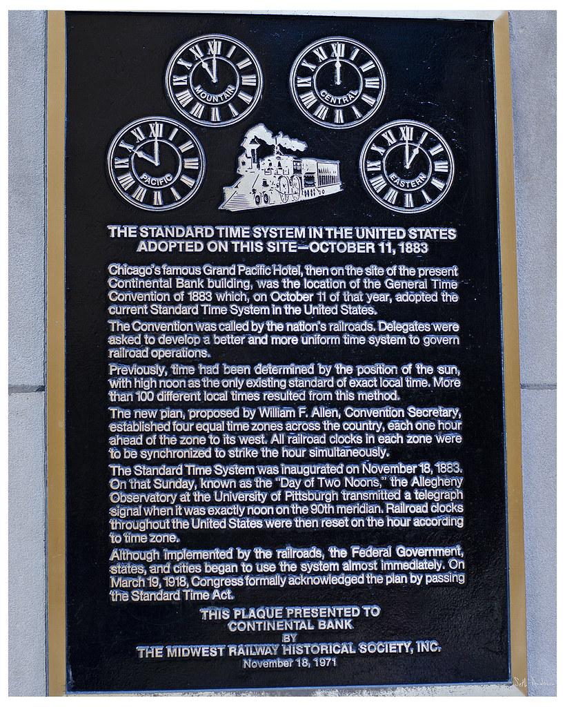 Standard Time System historic marker