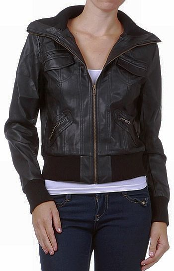 Guess Leather Jackets For Women