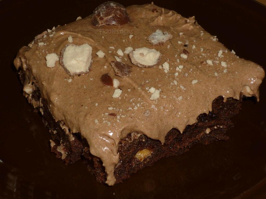 Milk Chocolate Whopper Brownies!!