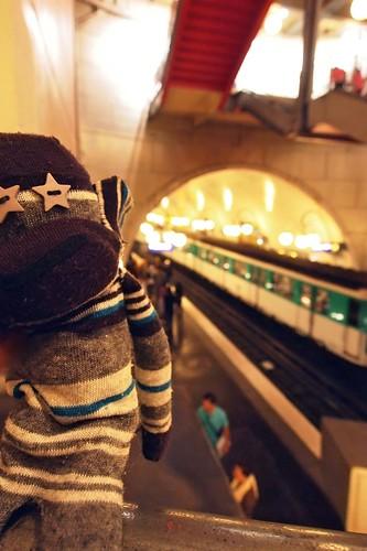 Monk in Metro