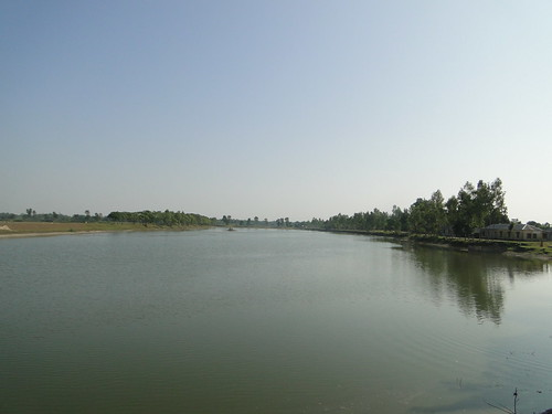 The canal near zero point (burimari border)