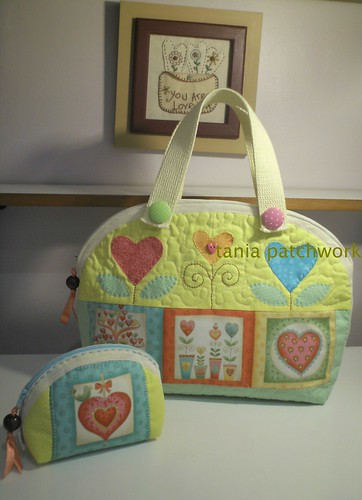 Conjunto Love by tania patchwork