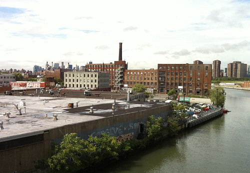 View from Pulaski Bridge. Photo © H Brandon