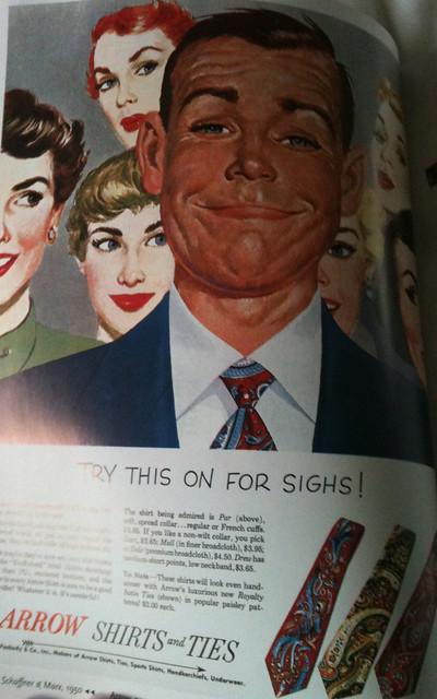 50s sighs ads