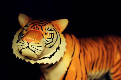 (252/365) Paper tiger