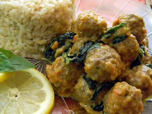 Meatballs in Three Lemony Leaves 4