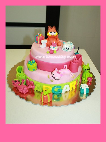 Garfield e gatinhos by Osbolosdasmanas