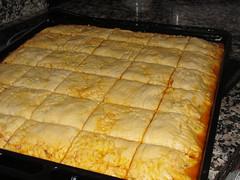 Empanada cruda