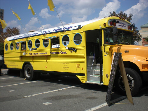 Yellow Submarine Sandwich Bus