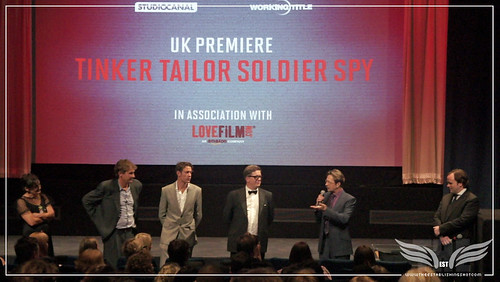 The Establishing Shot : Tinker, Tailor, Soldier, Spy Premiere - Robyn Slovo, Tim Bevan, Peter Straughan, Tomas Alfredson & Mr. Gary Oldman introducing the UK Premiere of Tinker, Tailor, Soldier, Spy by Craig Grobler