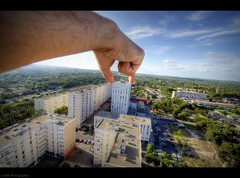 The World is yours (Le***Refs *PHOTOGRAPHIE*) Tags: building nikon tour nimes hdr immeuble batiment banlieue 10mm zup d90 theworldisyours zupnord lerefs