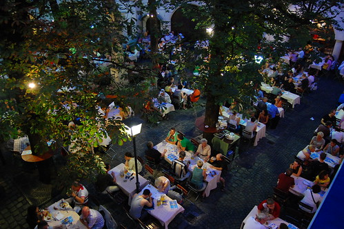 Courtyard of the Hofbrauhaus