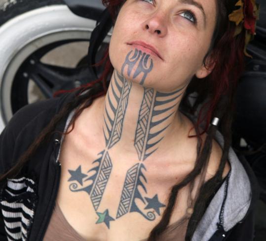 tattoo neck