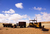 Abandoned Bulldozer (hannes.steyn) Tags: africa abandoned nature canon sand desert dunes rustic vehicles getty namibia bulldozer reserves namib namibdesert 550d hannessteyn canonefs1855mmf3556isusm canon550d eosrebelt2i namibnaukliftpark gettyimagesmeandafrica1