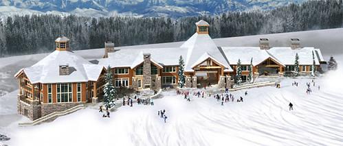 Mt Spokane proposed lodgewinter