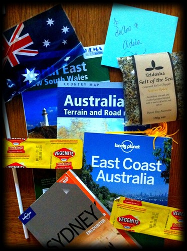 australia planning: the care package arrived