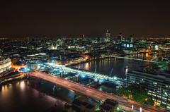 Luminous London (TheFella) Tags: city uk longexposure greatbritain bridge blue red england urban slr london thames night digital skyscraper photoshop canon river eos lights photo high europe cityscape dynamic cathedral unitedkingdom capital stpauls thecity trails millenniumbridge nighttime photograph processing slowshutter gb 5d blackfriars lighttrails dslr range riverthames gherkin hdr highdynamicrange southwark tower42 victoriaembankment blackfriarsbridge markii urbex traffictrails postprocessing photomatix thefella 5dmarkii conormacneill thefellaphotography