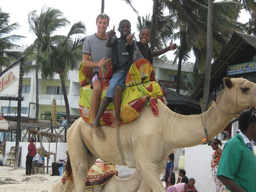 Camel Ride at the Beach