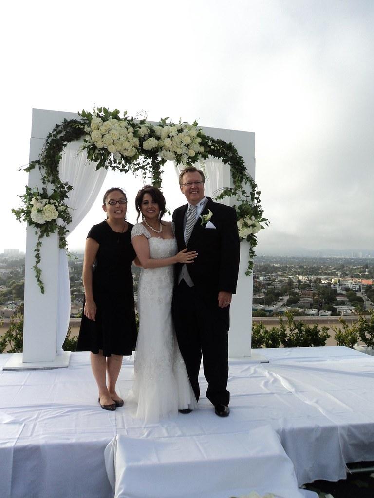 Marina del Rey clergy at Marriott hotel wedding