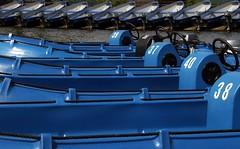 Blue it is (mennomenno.) Tags: blue boats blauw colours boten zevenhuizen kleuren rottemeren