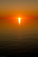 DSC_3652s (savillent) Tags: sunset sky sun moon canada water stars landscape photography nikon space nwt september saville 2011 tuktoyaktuk d300s
