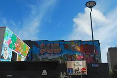 SUB OWED (Di's Free Range Fotos) Tags: street new uk england graffiti brighton sub ann quarter tribute robbo owed