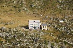 Berggasthaus Trift (Jungle_Boy) Tags: mountains alps switzerland suisse hiking trail zermatt valais höwenweghöhbalmen