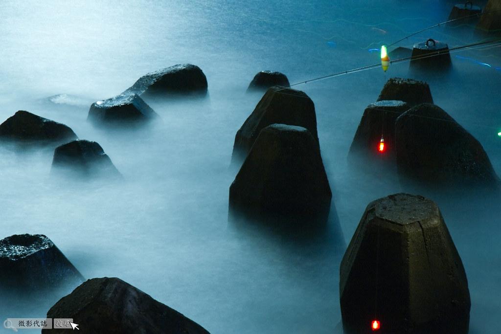 烏石港堤防夜拍 036