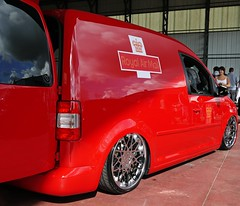 Caddy on Rotiforms ({House} Photography) Tags: vw volkswagen air caddy bagged stanced rotiform royalairmail
