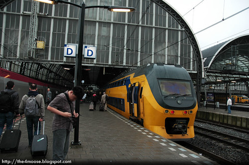 Thalys 9323 - Amsterdam Centraal Station