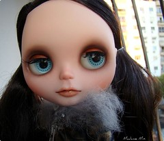 Custom Neo Blythe Margaret Meets Ladybug (luz natural)