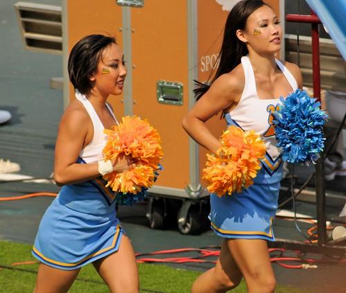 college cheerleaders Asian
