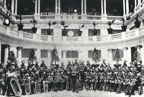 From flickr.com: United States Marine Corps Band and John Philip Sousa, 4 April 1892 {MID-189946}