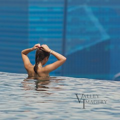 Pool with a view (Valley Imagery) Tags: pool marina bay singapore infinity sands