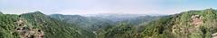 Vue panoramique des Cévennes