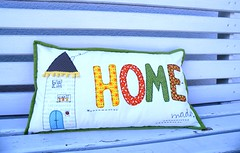 homemade !! (monaw2008) Tags: house home handmade pillow homemade fabric freehand applique cushion monaw monaw2008