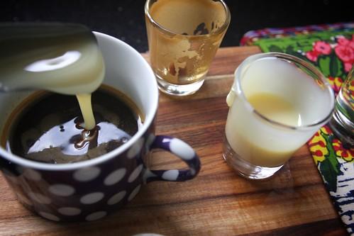 condensed milk & espresso