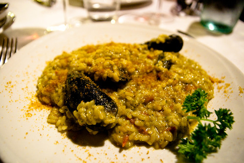Risotto at Sacro e Profano in Rome