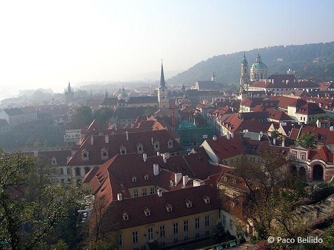Vista de Praga desde Hradcany. © Lola Vázquez, 2005