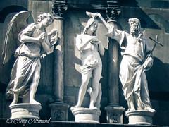 Baptism of Jesus (Amy Allmand photography) Tags: italy statue angel canon florence catholic cross jesus christian baptism tuscany bible catholicchurch christianity biblical jesuschrist johnthebaptist ilduomo lightroom3