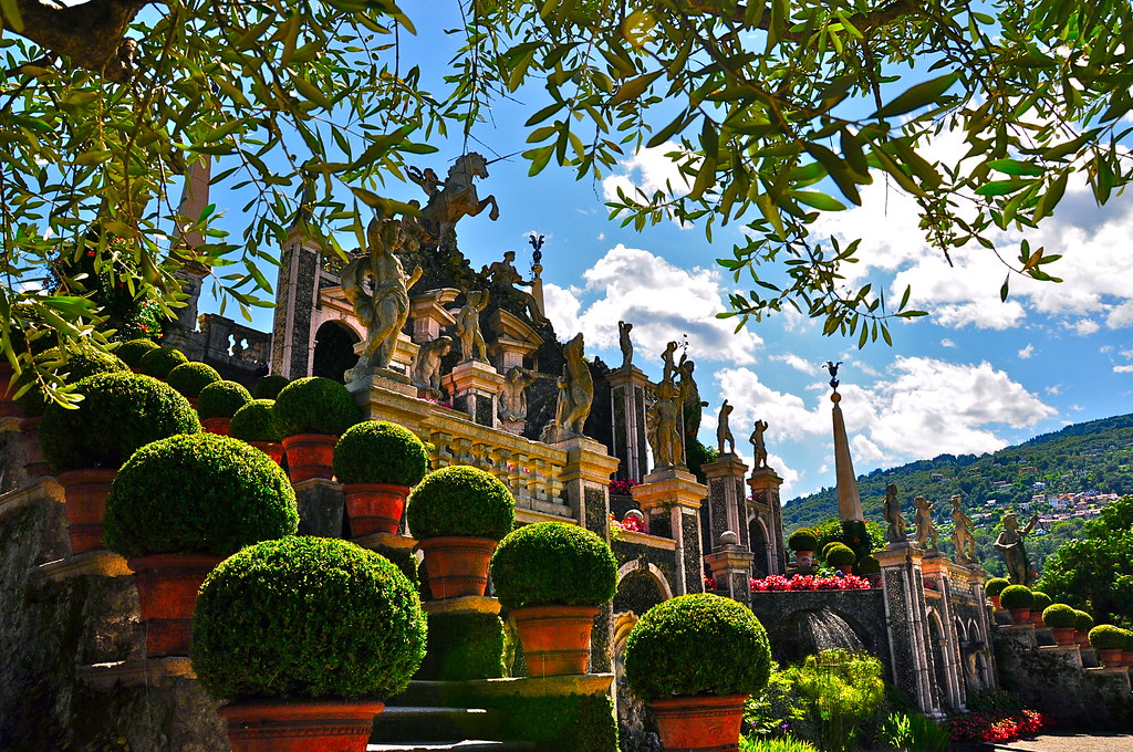 Giardino Palazzo Borromeo - Isola bella
