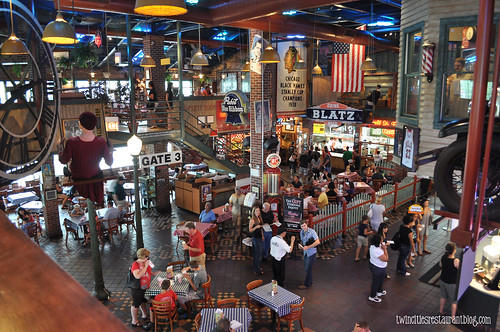 Inside Portillos ~ Chicago, IL