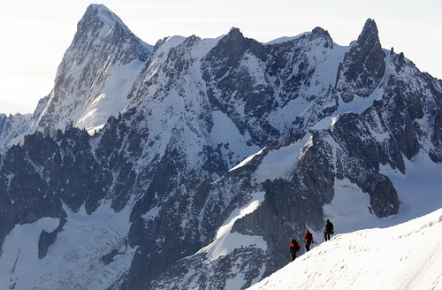 From Chamonix to Courmayer - Aiguille du Midi 07