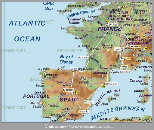 出走異鄉 → 2011 法國、西班牙 自助旅行規劃 旅行旅行誌-03