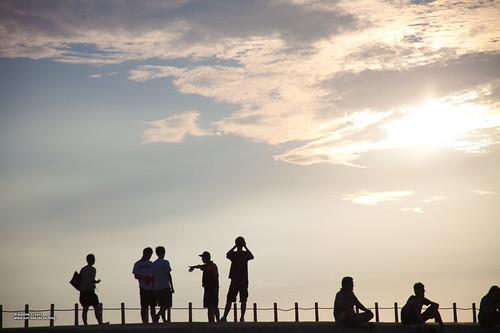 西子灣看夕陽-14