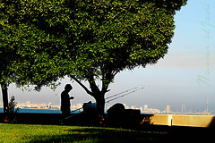 fishing spot! (Jadiyano) Tags: ocean light shadow sea plants sun plant man black tree men green beach me water grass sunrise canon photography eos rebel living photo fishing gulf view angle body live free ground single kuwait rise nasser q8 greentrees oceane gulfstreet t1i eosrebelt1i aljadi bojwais