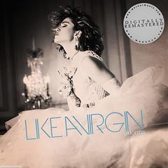 Madonna - Like A Virgin (Jonatas MeIo) Tags: girl digital album madonna like pop queen virgin cover 80s 1984 material tribute the ciccone jonatas a of