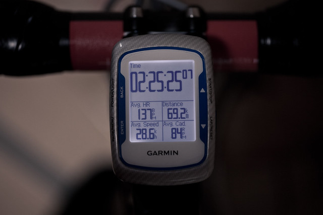 69.2km 2h25m H137 Ave28.6