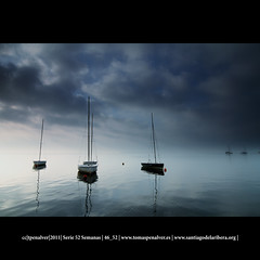 46_52:sunrise socaire (tpealver - www.tomaspenalver.es) Tags: blue sea azul clouds sunrise canon mar barco ship barcos ships murcia 7d marmenor tokina116