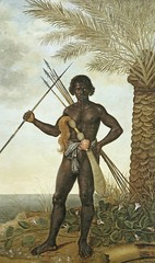 African Warrior (cool-art) Tags: africa black west spears african negro colonial ghana pre sword warrior akan akafena